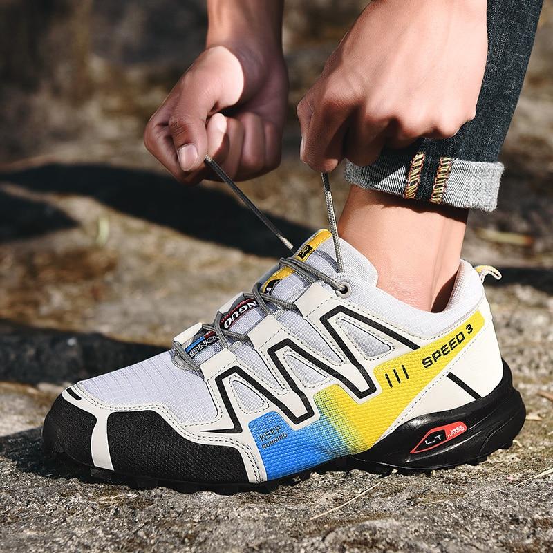 Zapatillas de deporte Zapatillas de senderismo antideslizantes para hombre y calzado para...