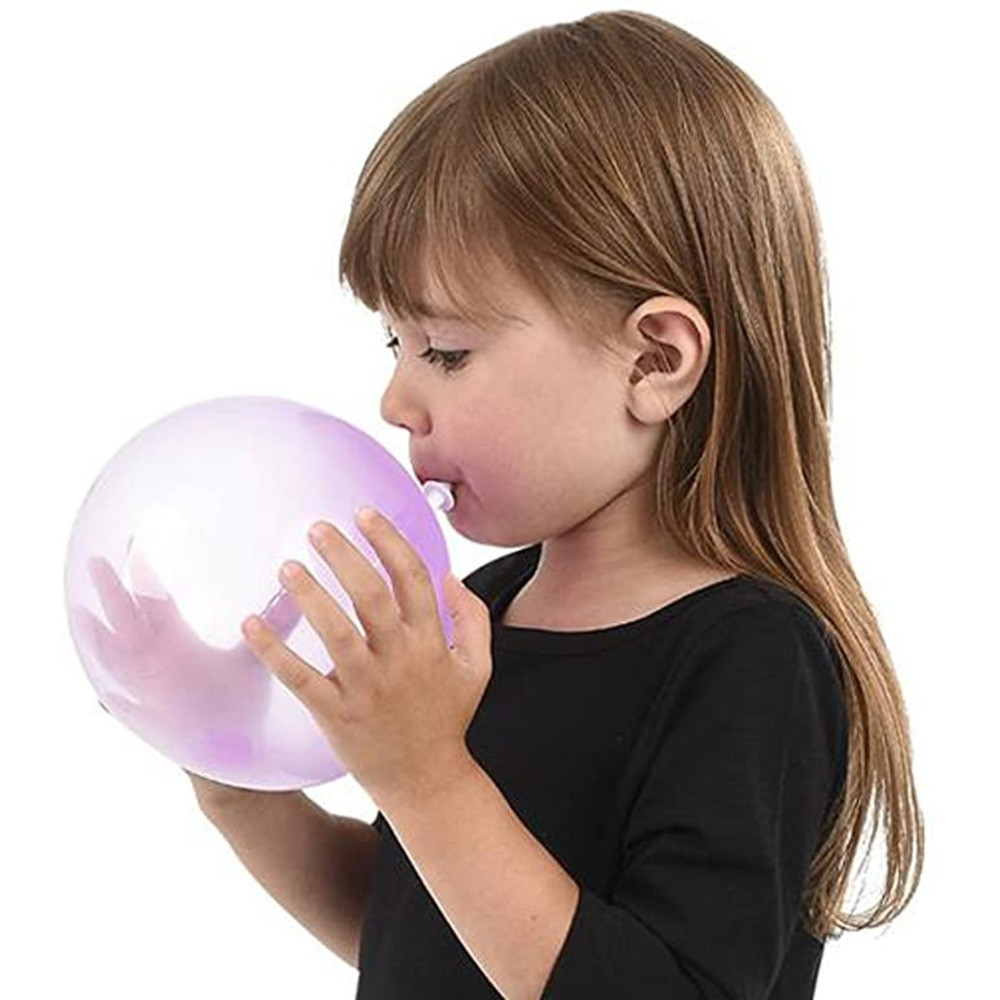 Bola mágica de burbujas en 4 colores para niños, pelota de burbujas con relleno de aire y agua, pelotas juguetes infantiles