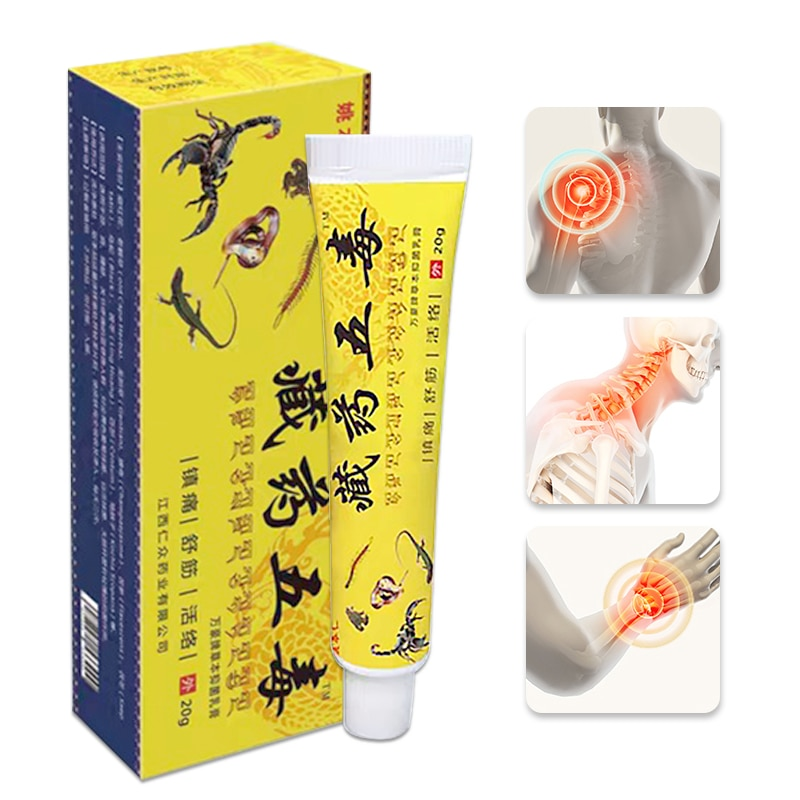 Poisonous Insects Extract Chinese Ointment Relieve Pain Herbal Health Lumbar Disc Herniation Lumbar Analgesic Plaster