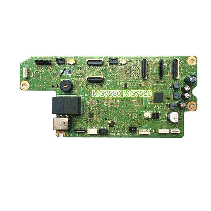 Original Printer Motherboard Interface Board Logic Board for Canon MG7580 MG7520 MG7780 7720 MG6380 MG7180
