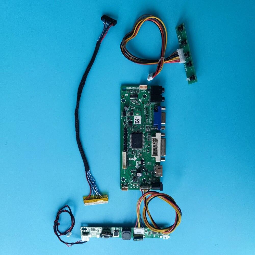 عدة ل M240HW01 عرض M.NT68676 لوحة تحكم 1920x1080 HDMI-متوافق شاشة مراقب لتقوم بها بنفسك 24