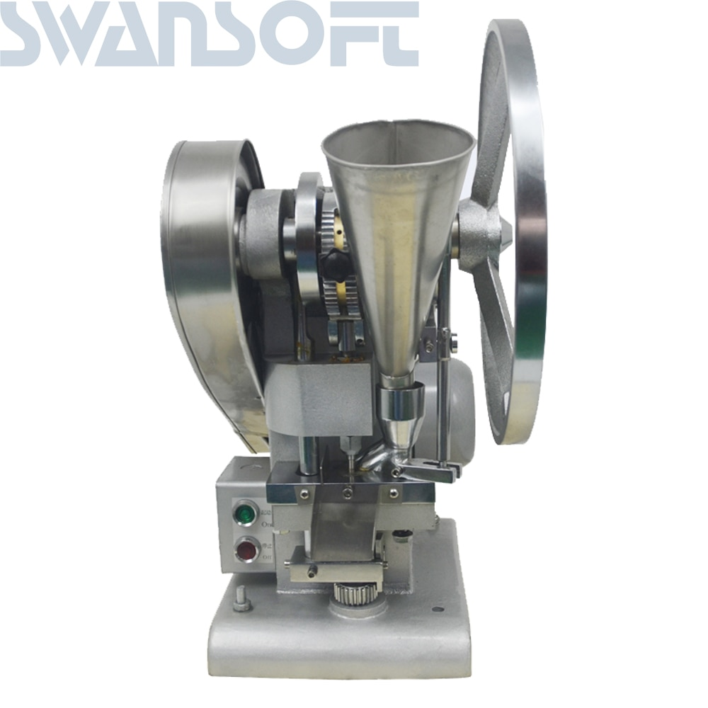 Prensadora Manual para tabletas de un solo punzón, máquina para prensar pastillas, máquina para fabricar pastillas, TDP-1.5 (de tipo más ligero), operada a mano, tipo mini