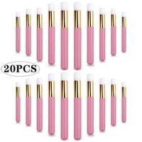 1020pcs nose brush eyelash cleaning brushes lash shampoo clean nose blackhead cleaning makeup brushes eyelash extensions tools