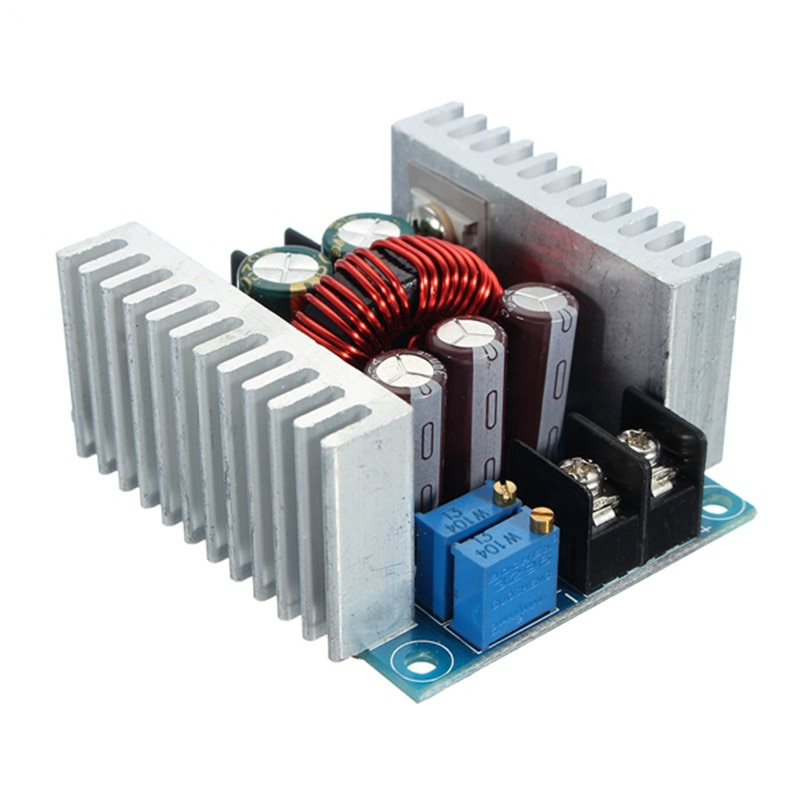 300W 20A DC DC Buck Converter Step Down Module Voltage Regulators Current Adjustable DC-DC Power Supply Regulators Step Down