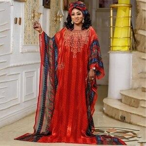 Chiffon African Dresses For Women Long Dress Africa Clothing High Quality Fashion Africa Maxi Dress Lady Muslim Fashion Abaya