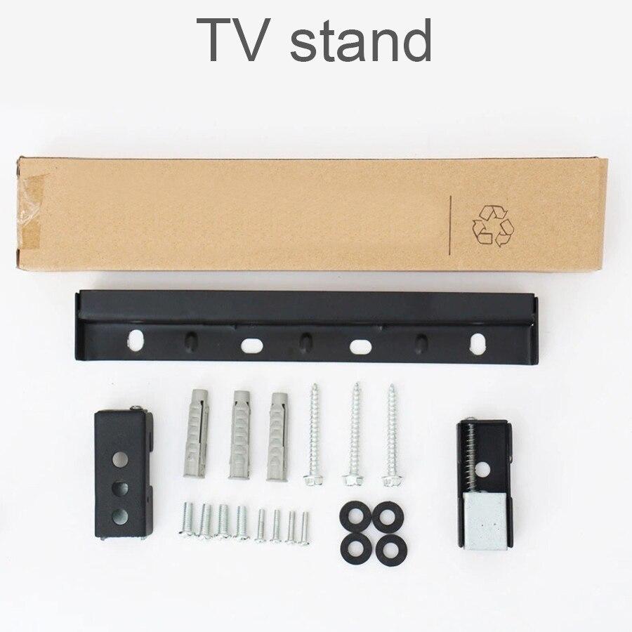 Universal de 20KG de TV soporte de montaje de 14 a 42 LCD Monitor LED titular de almohadillas de goma de Metal de pared de TV soporte de TV de Panel plano de