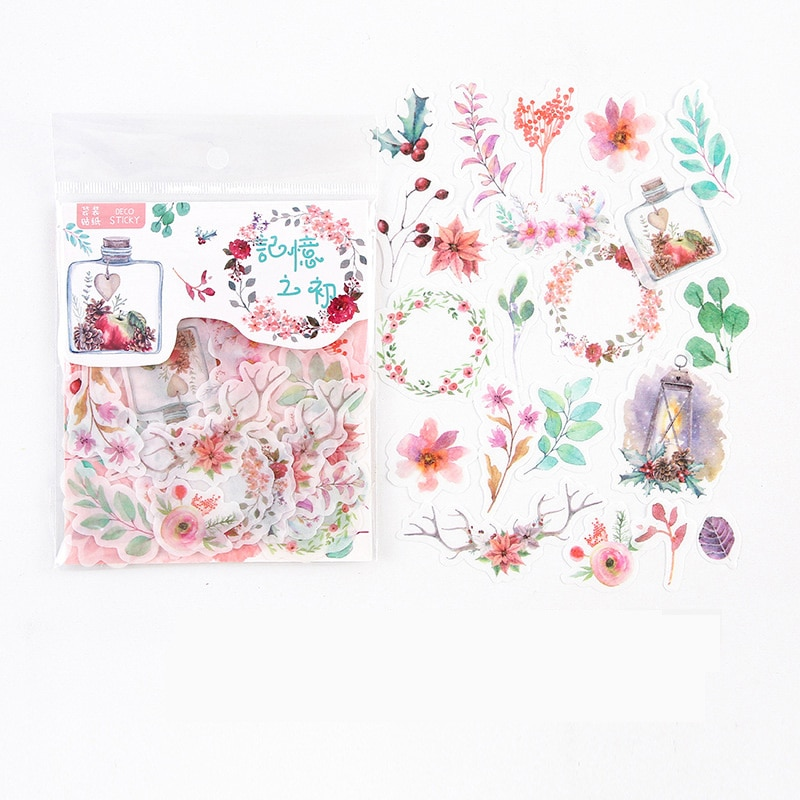 40-unids-pack-flores-y-hojas-de-pegatina-decorativa-para-uso-diario-album-cuenta-mano-decoracion