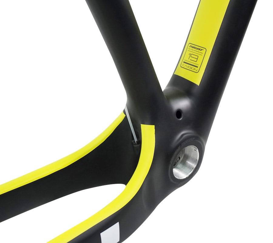 THRUST Carbon Frame 29er 15 17 19 Carbon mtb Frame 29 er BSA BB30 Bike Bicycle Frame Max Load 250kg 2 Year Warranty 18 Colors