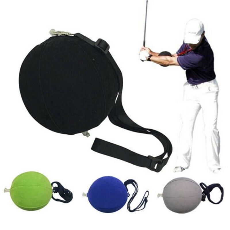 Inflatable Golf Intelligent Impact Ball Golf Swing Trainer Aid Practice Posture Correction Training