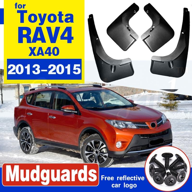 Para-lamas do carro para toyota rav 4 2013-2015 acessórios para-choque do carro respingo guarda paneling 2013 2014 2015