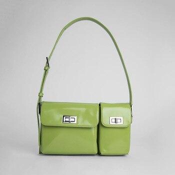 Niche Brand Design Messenger Bag Female Small Shoulder Bag Women 2020 New Summer Avocado Bag Women Fashion Handbags Sac A Main