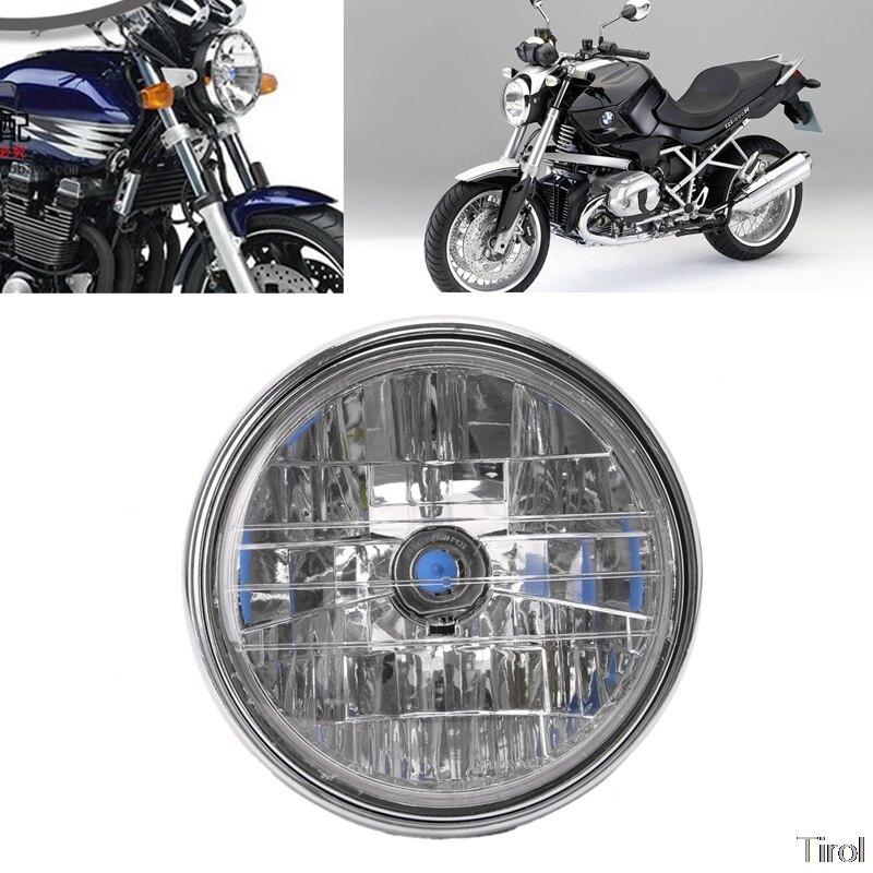 Faro de motocicleta para Honda CB400 Hornet900 VTEC VTR250 Piezas de motocicleta iluminación 35W