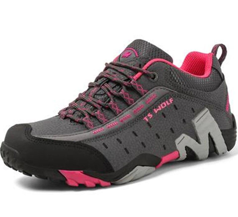 Las nuevas mujeres de Tactial militar botas de cuero al aire libre zapatos de caza de corte antideslizante zapatos de senderismo zapatos de los hombres de pesca zapatillas de deporte