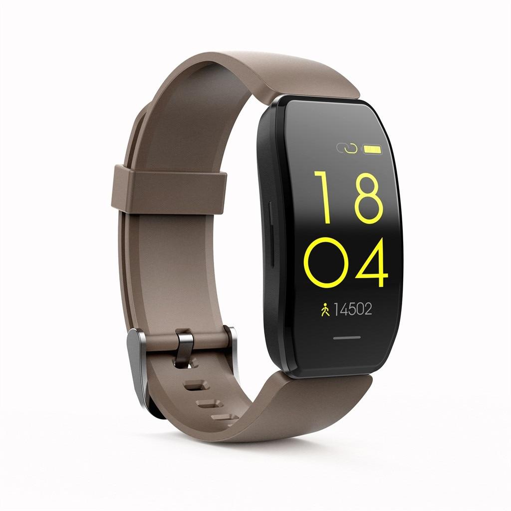 C114 pedômetro relógio inteligente pulseira de monitoramento do sono ip67 banda inteligente à prova dip67 água relógio banda # yl10