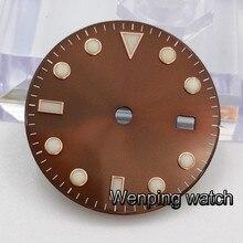 Corgeut 28.5mm watch sterile dials fit ETA 2836 2824 MINGZHU dg2813 DG3804,Miyota 82 series movement men watch Watch Accessories