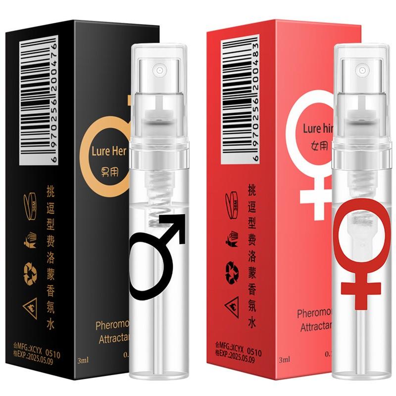 Pheromones Perfume Man Women 3ml Elegant Romantic Lasting Fresh Fragrance Women's Temptation Charming Pheromones Perfume