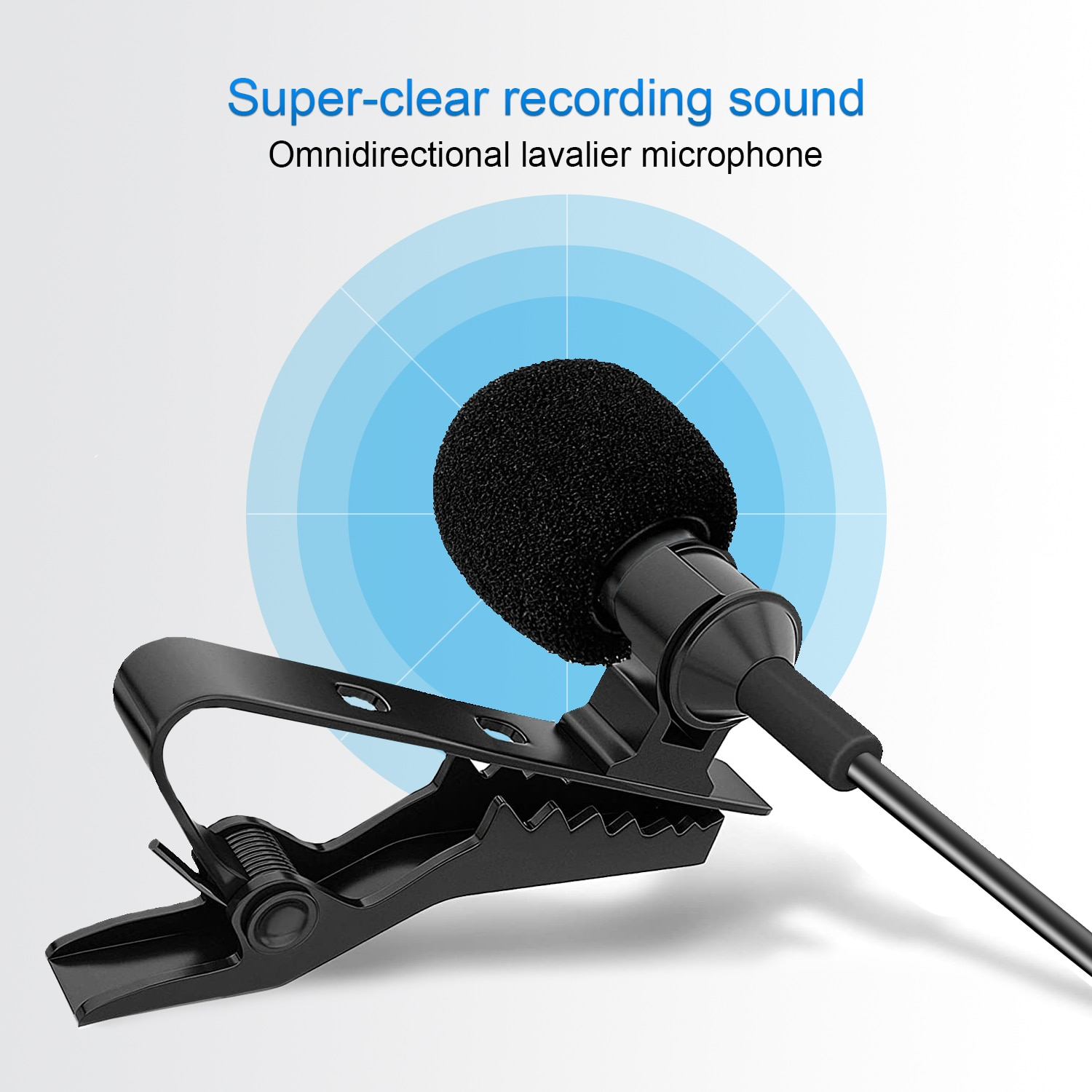 BOYA BY-WM4 Pro Wireless system  Condenser Microphone Lavalier Lapel  for Camera DV Smartphone for live streaming,vlogging enlarge