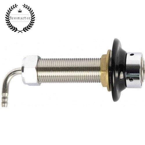 100 мм INTERTAP длинный хвостовик-304 нержавеющая сталь (хвостовик, с 5/8 шестигранной гайкой и EPDM шайбой)