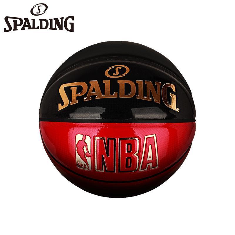 SPALDING Genuine Professional Basketball Fashion Indoor Wear-resistant Basketball Team Sports Men's Game Training Teaching Ball