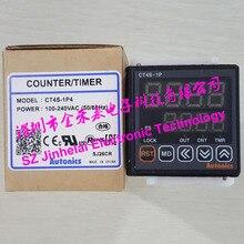 CT4S-1P4 (ct4s 220 v) relé novo e original da contagem de autônicos, contador/temporizador 100-240vac 50/60 hz