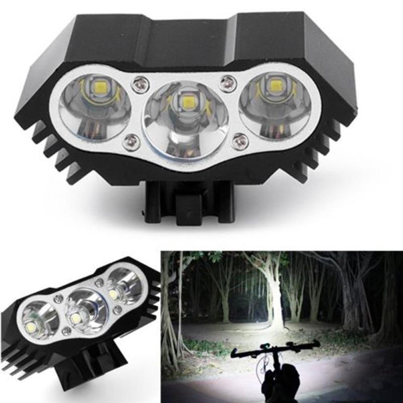 12000 Lums Bicycle Light Led Headlamp Bike USB Bike Light Waterproof LED Headlight Power Bank Bike Accessories