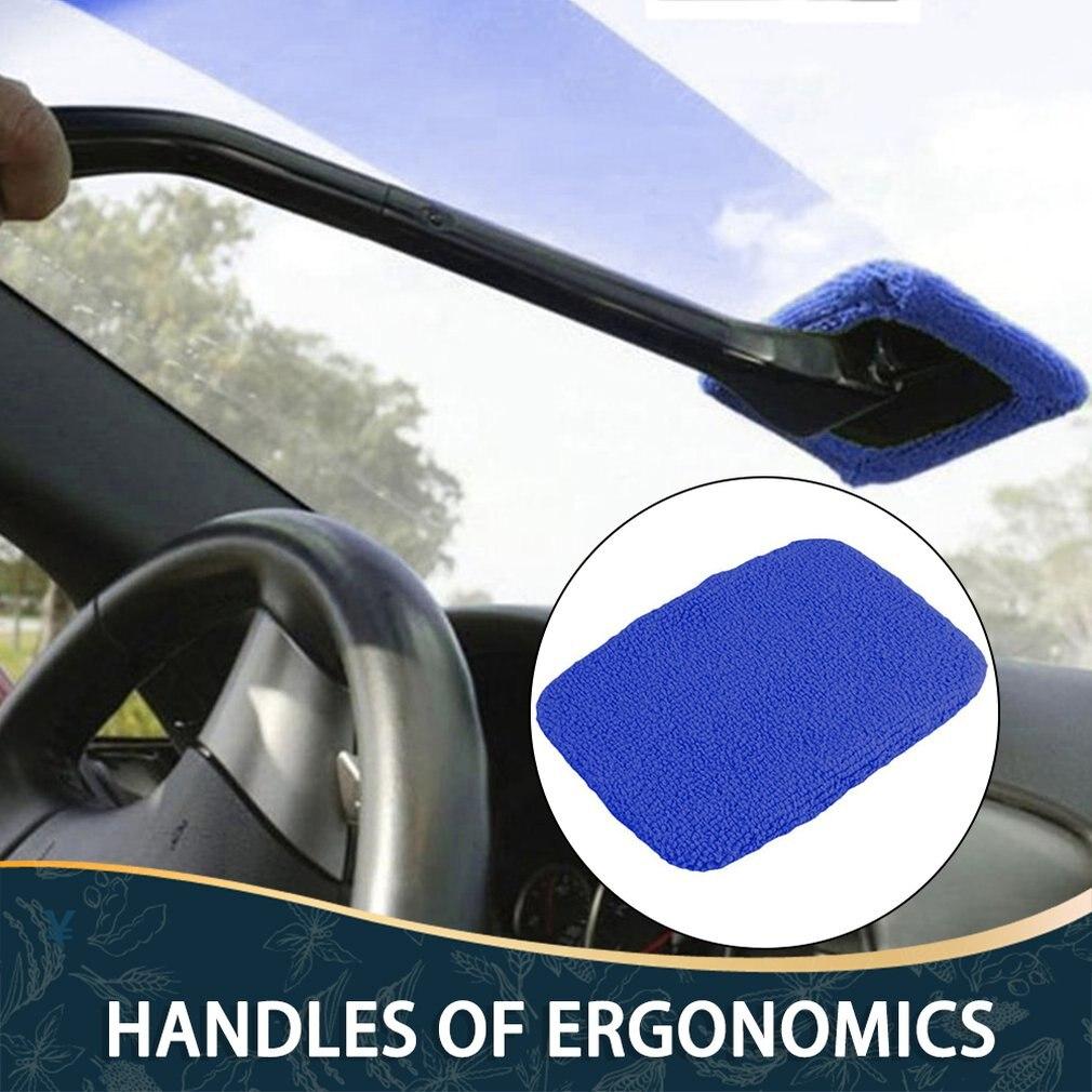 Waka 1pc casa viúva microfibra pano escovas de lavagem carro corpo janela limpador de vidro ferramentas de limpeza kit pára-brisa mais limpo