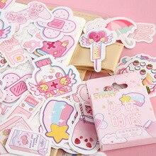 Adesivi Kawaii in scatola carino serie di generazione di ragazze moym Planner Scrapbooking cancelleria adesivi diario giapponese