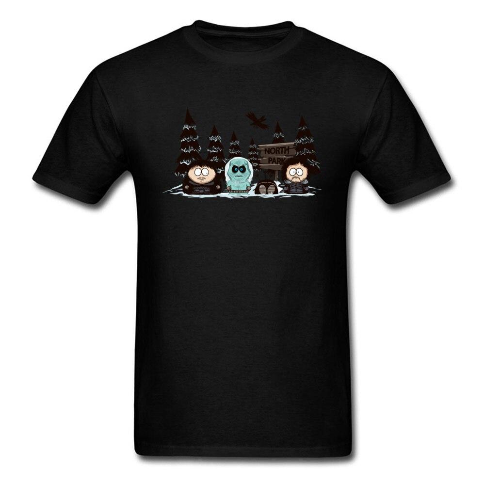 Camiseta divertida de parque del Norte para hombre de camiseta negra, ropa...
