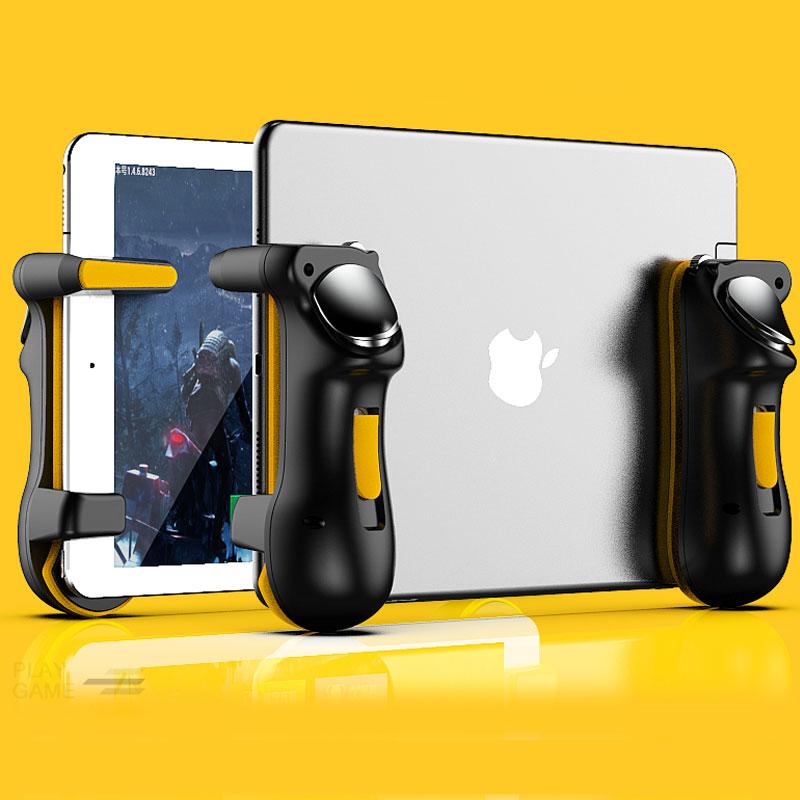 Контроллер PUBG для Ipad и планшетов, емкость L1R1, кнопка прицела огня, триггеры, геймпад, джойстик для Ipad, планшетов, FPS игр