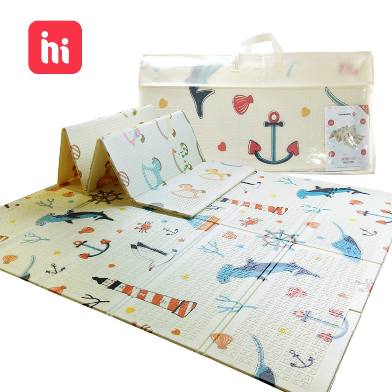 180cm*150cmXPE Baby Play Mat Toys For Children  Rug Playmat Developing Mat Baby Room Crawling Pad Folding Mat Baby Carpet
