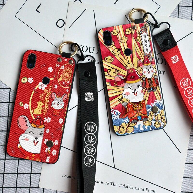Festivo Cordón de cuello cubierta para Meizu Pro 6 7 Plus M5 MX6 M8 M9 nota A5 M6s U10 U20 parachoques Fundas teléfono carcasa