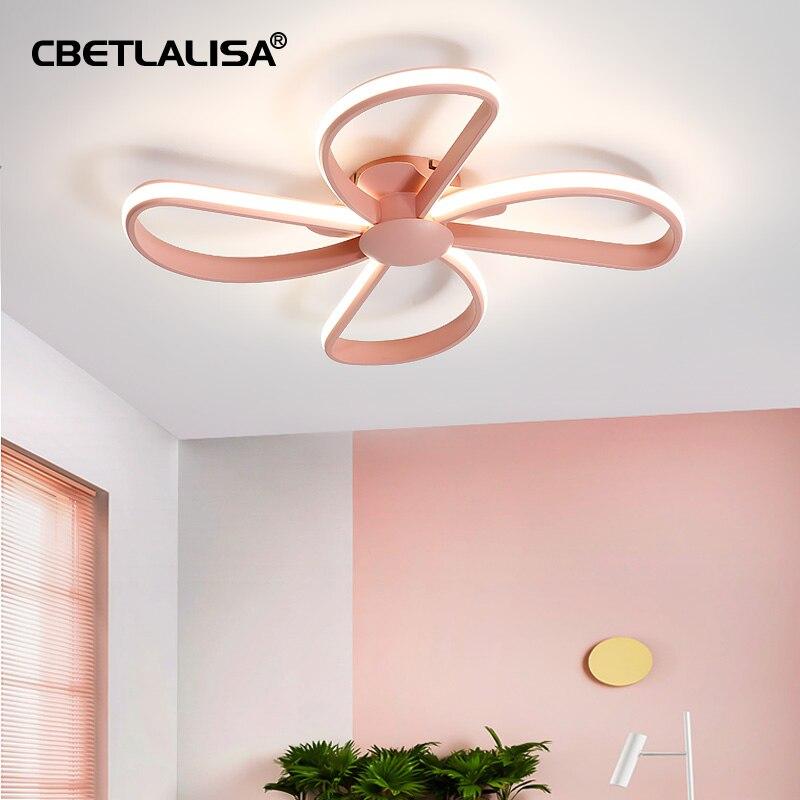 CBETLALISA-ثريا في الحضانة ثريا سقف led لغرفة النوم والمطبخ ، مصباح سقف led باللون الأزرق/الوردي ، xiaomi