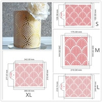 Трафарет для свадебного торта цветок и листик для торта декоративные инструменты для украшения свадебного торта помадка форма для торта