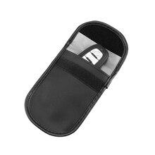 Signal Blocking Bag for Car Key Cell Phone Protection Car Fob Signal Blocker Faraday Bag Shielding P