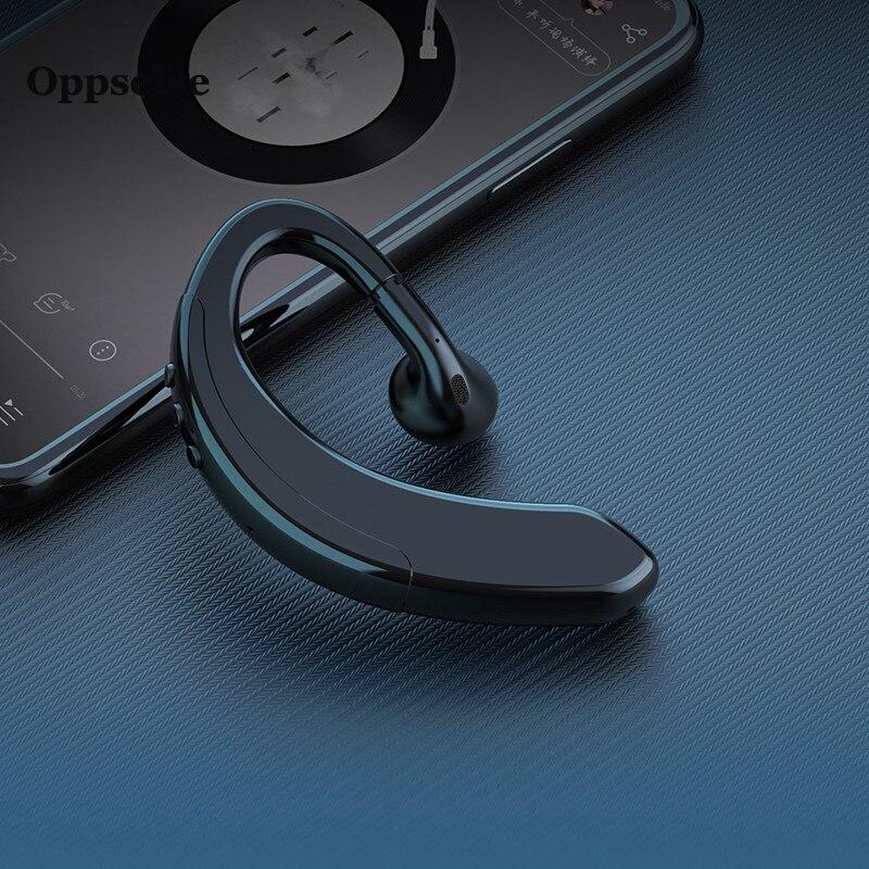 Auriculares inalámbricos Bluetooth manos libres con Control de ruido, auriculares inalámbricos con micrófono para Driver Sport iPhone 11 7, Smartphones