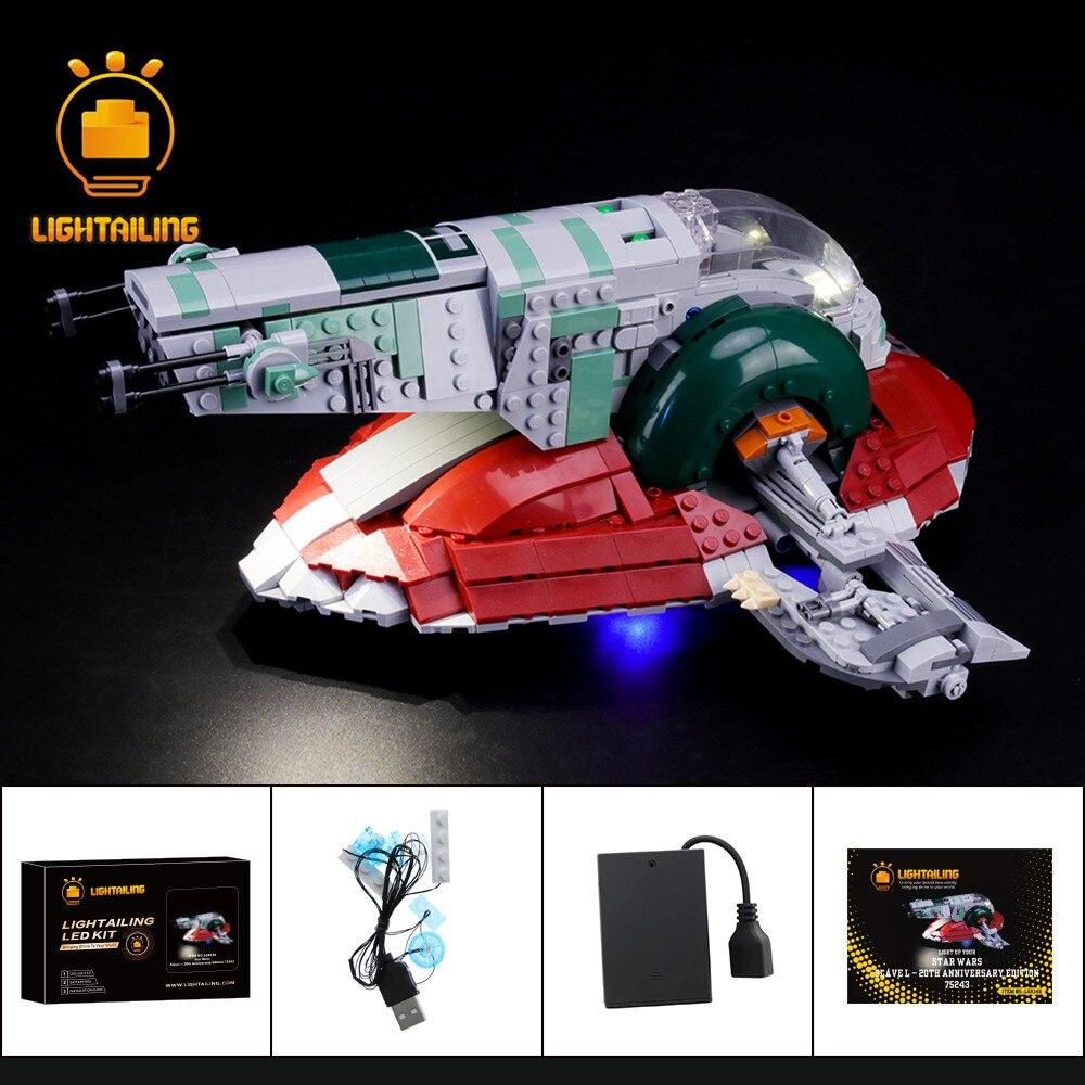 LIGHTAILING Kit de luz LED para el juego de iluminación de bloques de construcción de la serie Star Wars 75243 edición aniversario l - 20