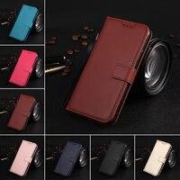 plain color cover coque pu leather flip wallet case for moto g6 g5 g5s g4 plus g2 x play x3 lux x4 z force e4 c phone bag