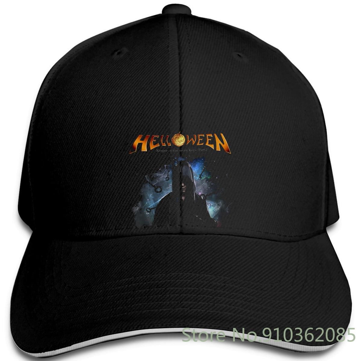Helloween Keeper of The Seven Keys Black Metal Band Fan pre-ajustable gorras béisbol gorra hombres mujeres