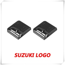 2x logotipo do carro led porta fantasma sombra luz cortesia projetor a laser para suzuki alto ha25 ha35 baleno swift mz ez fz nz vitara sx4