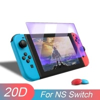 clear glass screen for nintendo switch premium tempered glass protective film surface guard for nintend switch game accessory