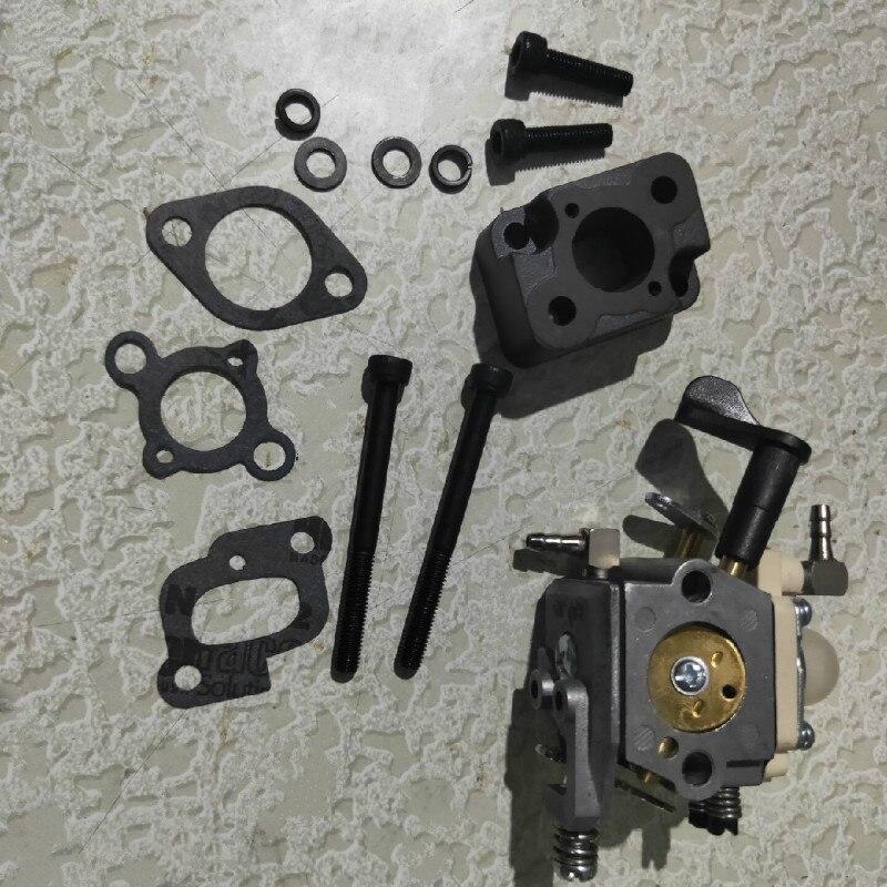 Carburetor & Intake Pipe Kit for 23cc 26cc 29cc 30.5cc Engine Fit 1/5 HPI ROVAN ROFUN KM GTB TS BAJA Losi 5ive T FG Rc Car Parts
