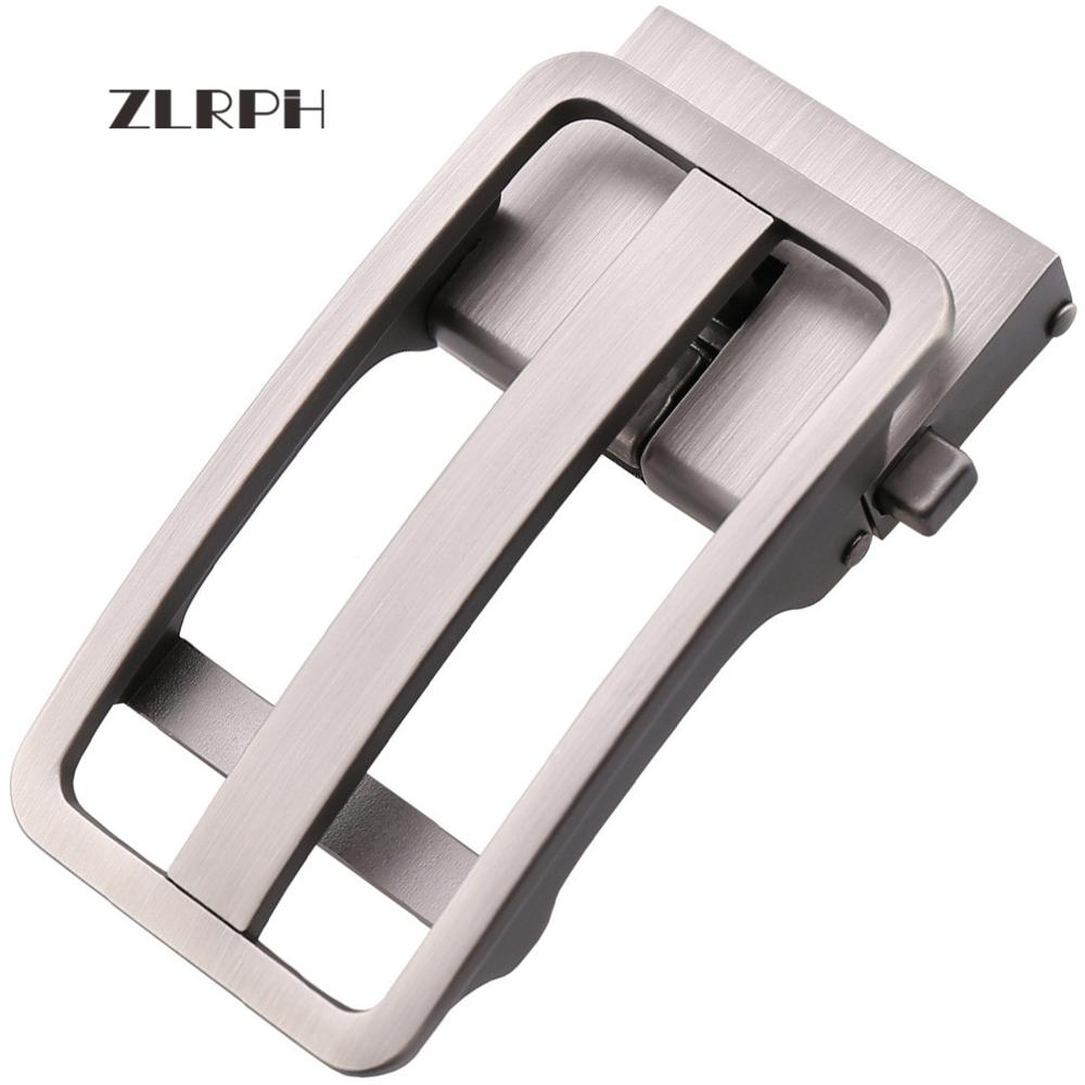 ZLRPH Genuine Leather Belt Men Luxury Brand Designer Top Quality Belts for Men Strap Male Metal Automatic Buckle no onepaul cowhide leather strap designer quality metal belts men high luxury jeans waistband men belts automatic buckle belt