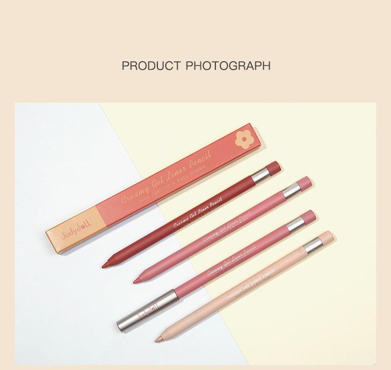 Smudge-proof Long-lasting Gel Eyeliner Pencil