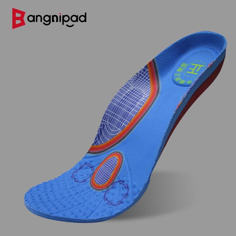 BANGNIPAD Orthopedic Insoles Flat Feet Arch Support Memory Foam Shoes Pad Plantar Fasciitis Foot Pain Inserts for Men Women