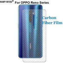 Für OPPO Reno Reno2 EINE Z ACE 2 3 Realme X2 Pro 5G Langlebig 3D Anti-fingerprint Carbon faser Rückseite Screen Protector Film (Nicht Glas)