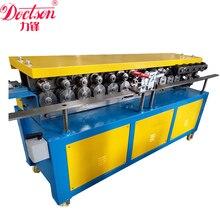 T12 tdf 덕트 플랜지 성형 기계. 환기 파이프 성형 기계