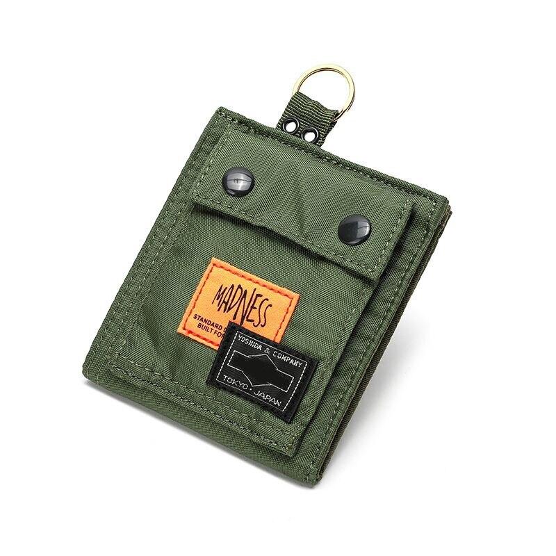 Короткий кошелек Yoshida Porter, женский клатч, кошелек двойного сложения 2021, Брендовые мужские сумки и кошельки для женщин, мужской кошелек