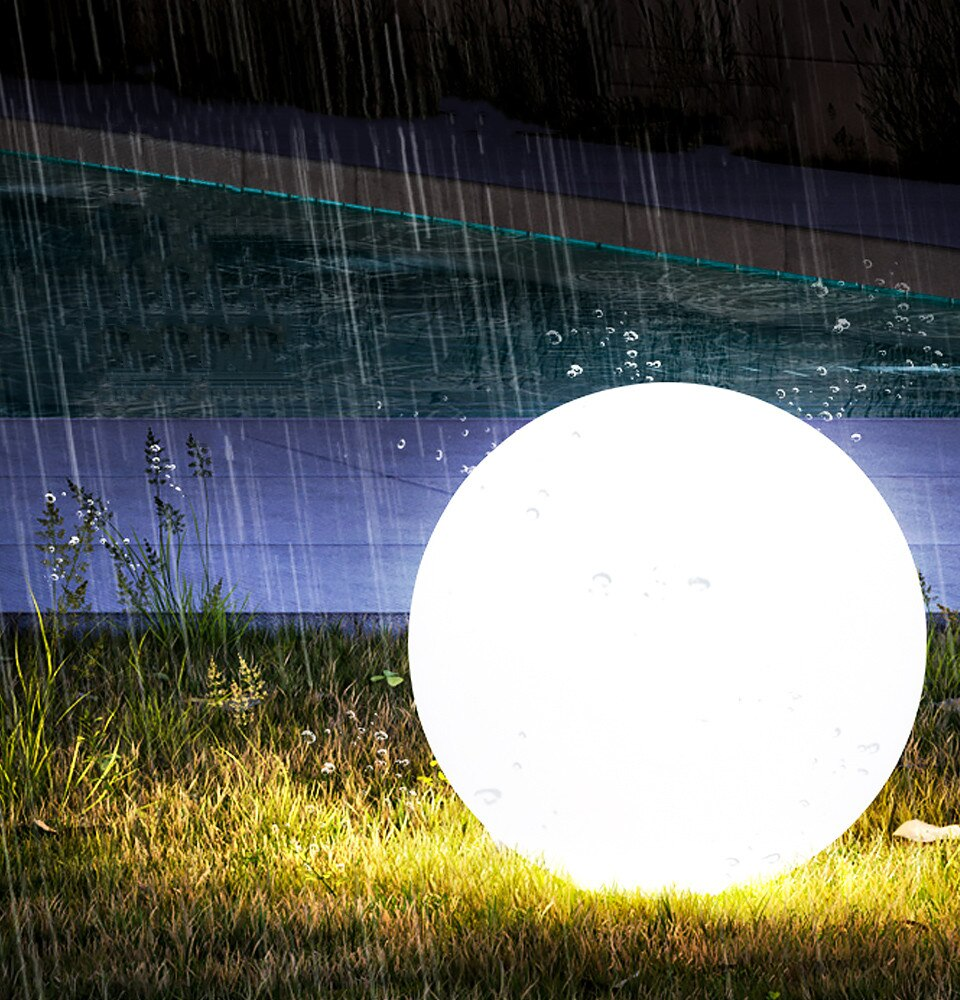 Waterproof Led Garden Ball Light Outdoor Lawn Lamps Rechargeable Festive Party RGB Landscape Swimming Pool Floating Lights Toys enlarge