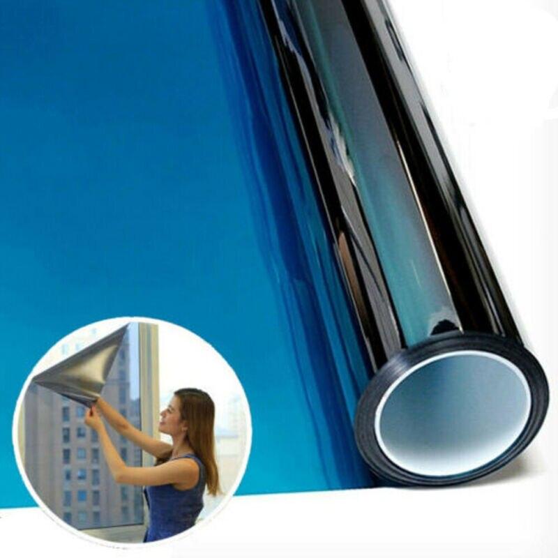 Nueva llegada de tinte de la ventana de una manera espejo Uv calor reflejado casa Oficina de Privacidad proteger protector solar etiqueta engomada de cristal