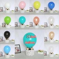 5pcs 18inch rose goldlatex balloonbaby shower wedding valentines day hirthday party boy or girl decoration